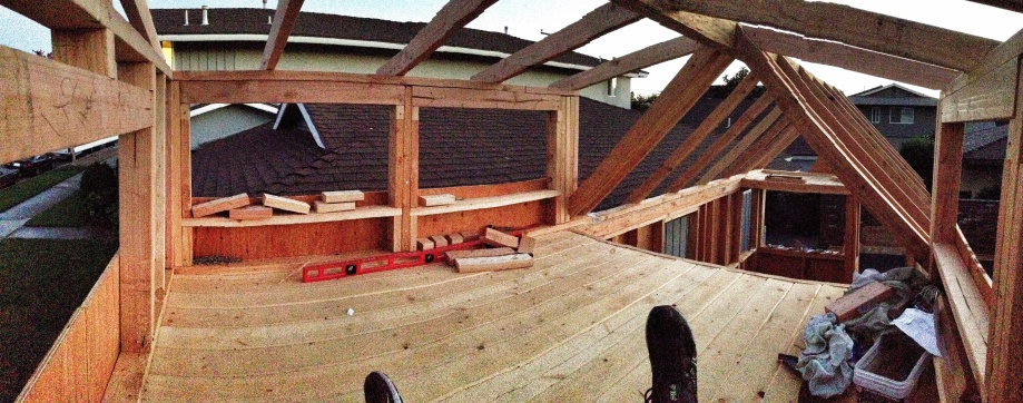 pano photo of the loft