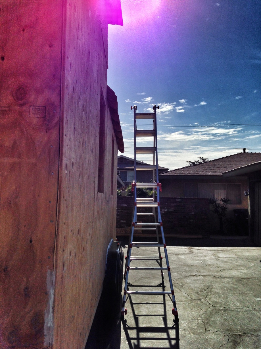 the most amazing ladder came into day. little giant. seriously this thing does everything. it has helped me in so many ways and easy to use