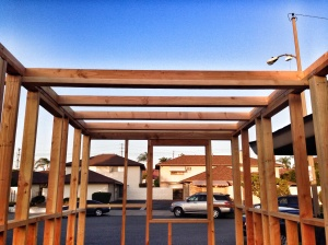 another view of my loft beams